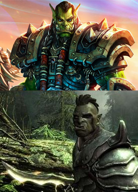 Our Orcs Are Different - TV Tropes