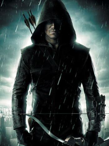 https://static.tvtropes.org/pmwiki/pub/images/greenarrowthehoodoutfit.png