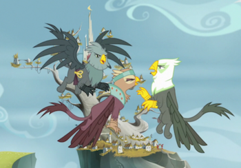 https://static.tvtropes.org/pmwiki/pub/images/griffons_arguing_in_the_griffonstone_sky_s6e19.png