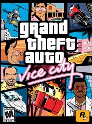 Video Game Grand Theft Auto Vice City