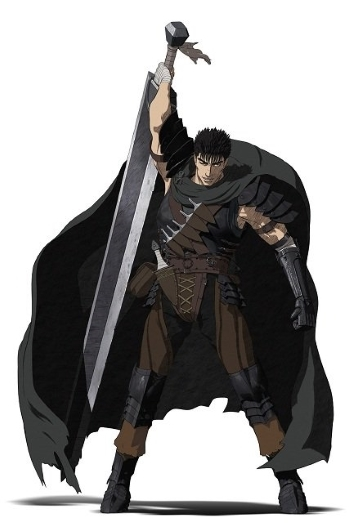 Anime Character Design Tropes : Berserk guts characters tv tropes