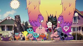 the amazing world of gumball western animation   tv tropes