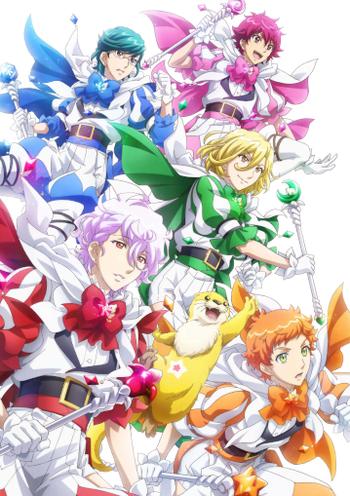 Cute High Earth Defense Club Happy Kiss Anime Tv Tropes
