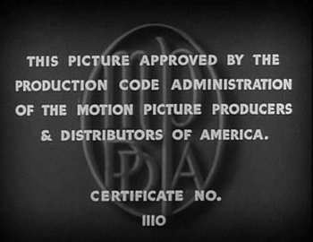 the hays code useful notes tv tropes