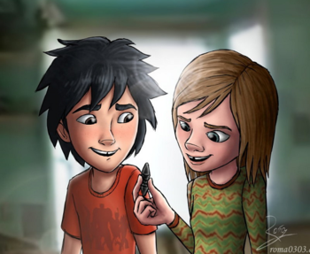 big hero 6 hiro and aunt cass fanfic