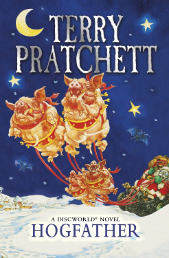 an analysis of the novel the hogfather by terry pratchett Pratchett's first non-discworld series, the book of the nomes children's-sf trilogy  terry pratchett's hogfather: the illustrated screenplay (london: gollancz,.