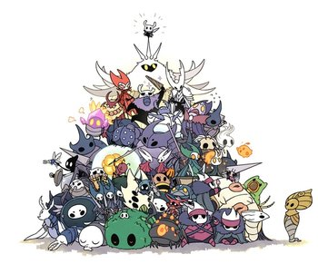 https://static.tvtropes.org/pmwiki/pub/images/hollow_knight_cast.jpg