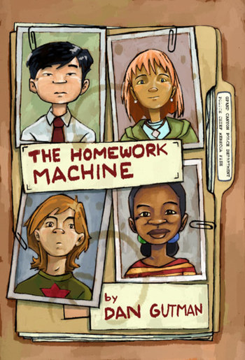 the homework machine dan gutman summary