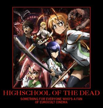 Highschool of the dead bath scene