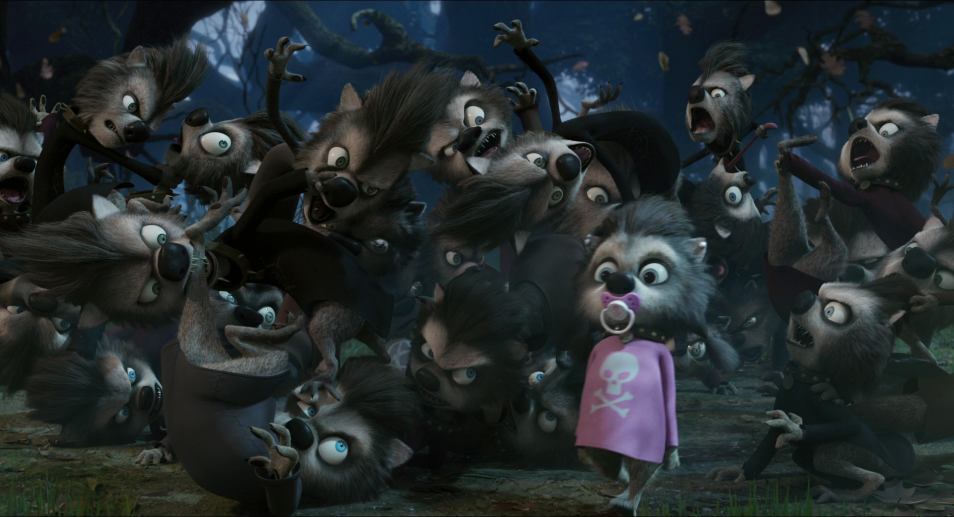 Image result for hotel transylvania 3 wolf pups