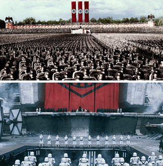 https://static.tvtropes.org/pmwiki/pub/images/hux_speech_puttin_on_the_reich.png