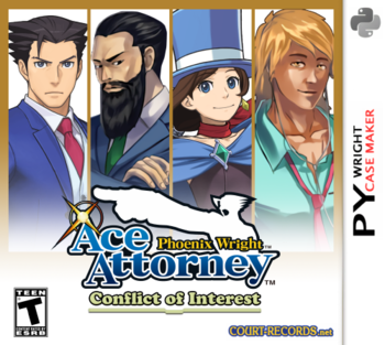Phoenix Wright Ace Attorney Conflict Of Interest Video Game