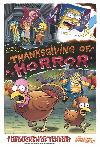 The Simpsons S31 E8 Thanksgiving Of Horror Recap Tv Tropes