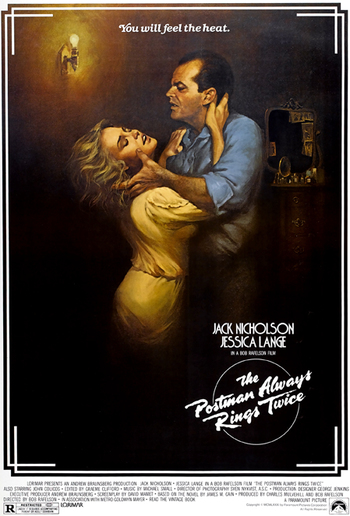 "an analysis of the movie the postman ""the postman always rings twice"" is an absolutely superb mounting of a hollow and disappointing production it shows a technical mastery of filmmaking, and we are dazzled by the performances, the atmosphere, the mood of mounting violence but by the second hour of the film we've lost our ."
