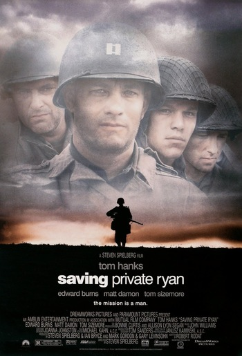 analysis of the movie saving private ryan directed by steven spielberg Starring steven spielberg's regular collaborator, tom hanks, as an army captain during world war ii, saving private ryan, that completes 20 years of its release today, is widely considered to be the best movie on war ever made.