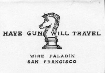 Have gun will travel series tv tropes edit locked colourmoves