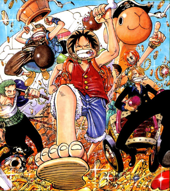 One Piece Logue Town Arc / Recap - TV Tropes