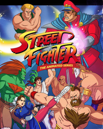 Street Fighter Western Animation Tv Tropes