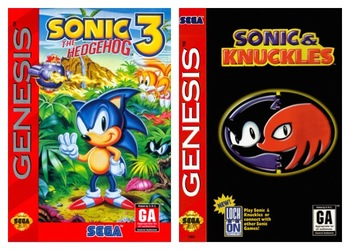 Sonic And Knuckles Title Screen