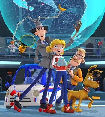 Inspector Gadget (2015) (Western Animation) - TV Tropes