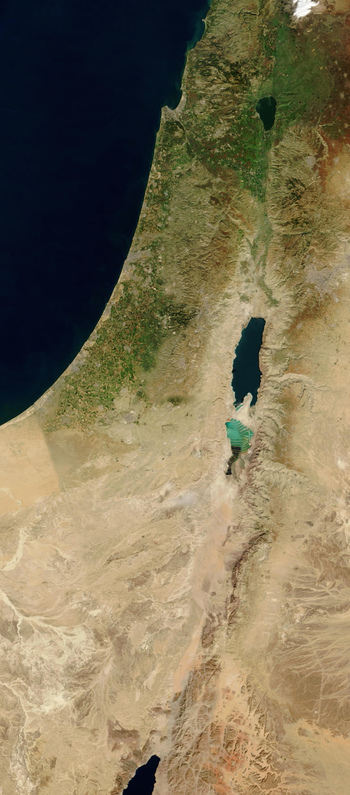 https://static.tvtropes.org/pmwiki/pub/images/israel_palestine_from_space.jpg