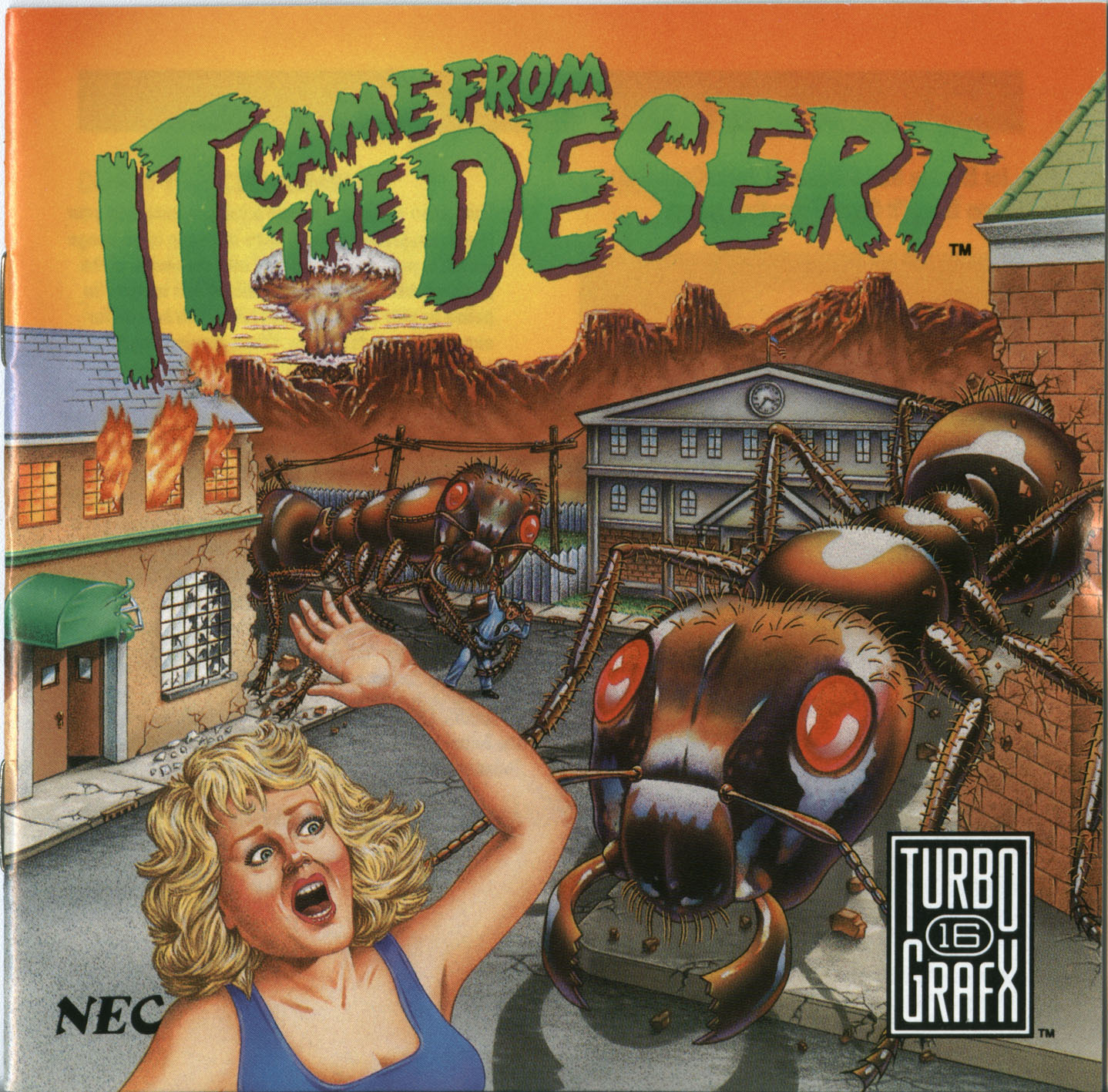 It Came From The Desert Video Game Tv Tropes