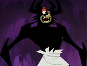 Samurai Jack - Aku / Characters - TV Tropes