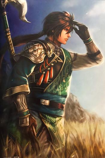 Dynasty Warriors: Shu Kingdom / Characters - TV Tropes | 350 x 529 png 285kB