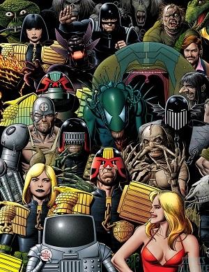 Judge Dredd Characters Tv Tropes