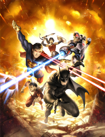 justice league war western animation tv tropes