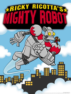 Ricky Ricotta S Mighty Robot Literature Tv Tropes