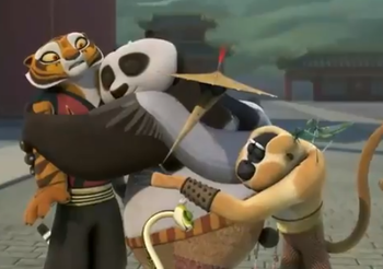 Visualizza altre idee su Dreamworks animation, Kung fu panda 3 e Fat panda.