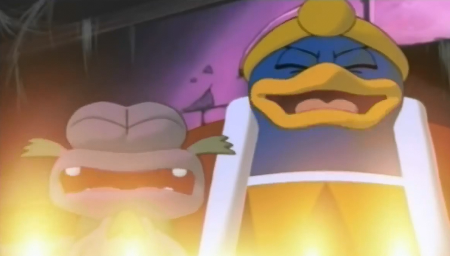 https://static.tvtropes.org/pmwiki/pub/images/king_dedede_and_escargoons_evil_laugh.PNG