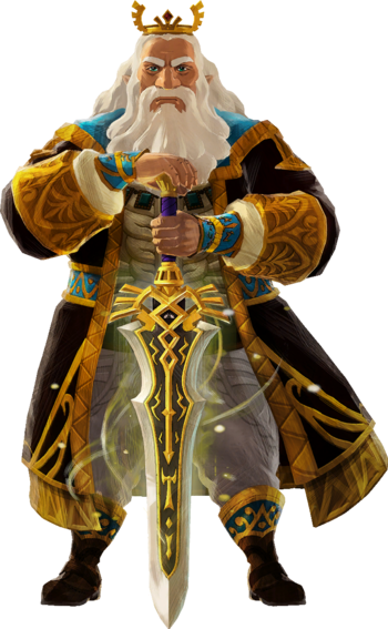 Hyrule Warriors Age Of Calamity Hyrulean Forces Characters Tv Tropes