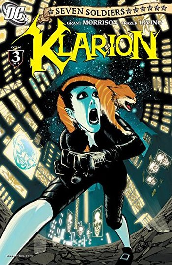 Klarion The Witch Boy Comic Book - Tv Tropes-1819