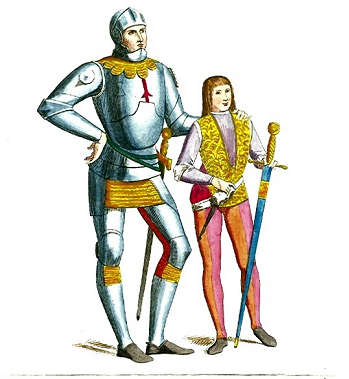 https://static.tvtropes.org/pmwiki/pub/images/knight_with_squire.png