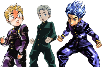 Jojos Bizarre Adventure Adaptation Dye Job Tv Tropes