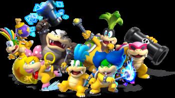 Super Mario Bros The Koopalings Characters Tv Tropes