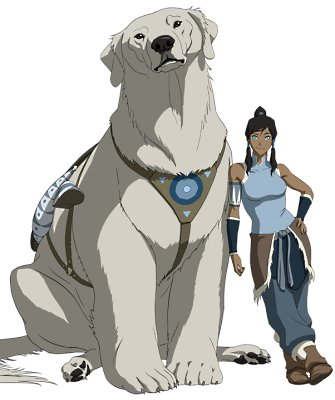 http://static.tvtropes.org/pmwiki/pub/images/korra_and_naga_6070.jpg