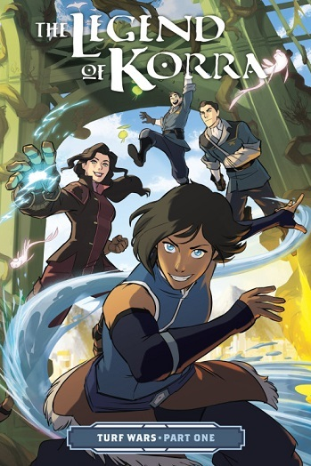 The Legend of Korra: Turf Wars (Comic Book) - TV Tropes