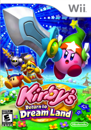 Kirby's Return to Dream Land / Videogame - TV Tropes