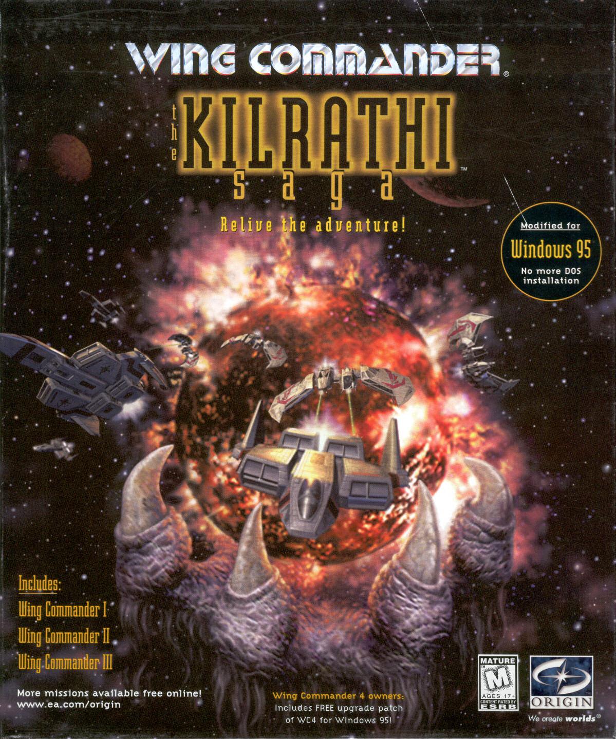 Wing commander the kilrathi saga video game tv tropes for Wing commander