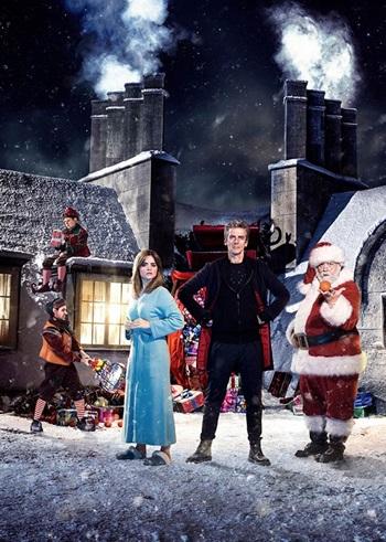 "Doctor Who 2014 CS ""Last Christmas"" / Recap - TV Tropes"