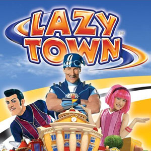 Lazy town stephanie sportacus robbie ziggy cartoon
