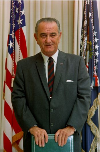 analysis of a quote by lyndon b johnson essay In what ways did the administration of president lyndon b johnson respond to  the  this essay has a simplistic thesis, contains very little analysis, and quotes .