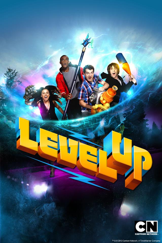 Level up cartoon network poster