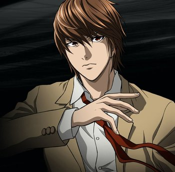 Death Note Light Yagami / Characters - TV Tropes