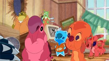 Lilo Stitch The Series Funny Tv Tropes