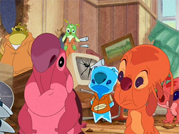 http://static.tvtropes.org/pmwiki/pub/images/lilo_and_stitch_the_series_spike_experiments_reaction.jpg