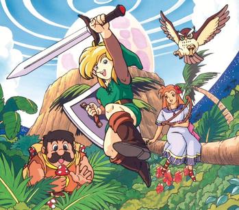 The Legend of Zelda: Link's Awakening (Video Game) - TV Tropes